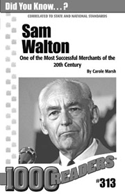 Sam Walton: One of the Most Successful Merchants of the 20th Century Consumable Pack 30