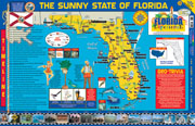 The Florida Experience Poster/Map!