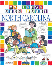 My First Book About North Carolina!