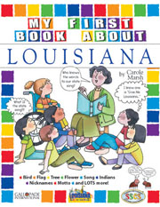 My First Book About Louisiana!