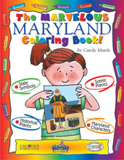The Marvelous Maryland Coloring Book!