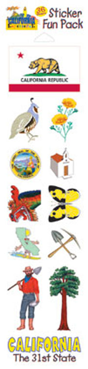 The California Experience Sticker Pack!