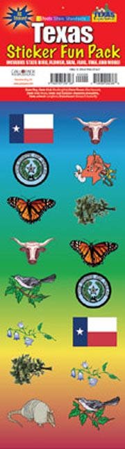The Texas Experience Sticker Pack!