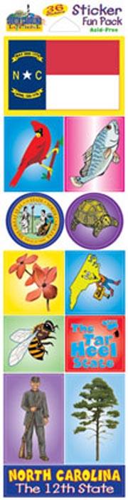 The North Carolina Experience Sticker Pack!
