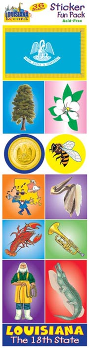 The Louisiana Experience Sticker Pack!