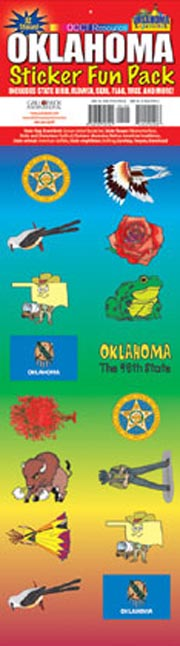 The Oklahoma Experience Sticker Pack!