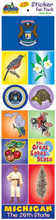 The Michigan Experience Sticker Pack!