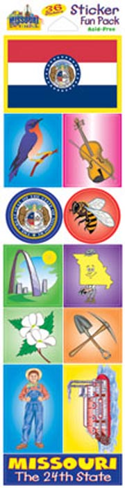 The Missouri Experience Sticker Pack!