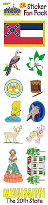 The Mississippi Experience Sticker Pack!