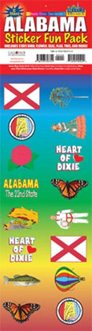 The Alabama Experience Sticker Pack