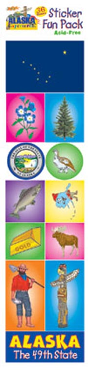 The Alaska Experience Sticker Pack