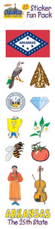 The Arkansas Experience Sticker Pack