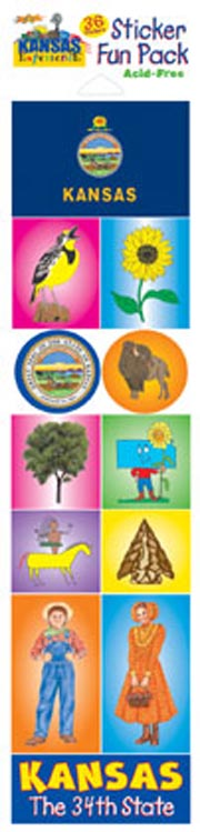 The Kansas Experience Sticker Pack