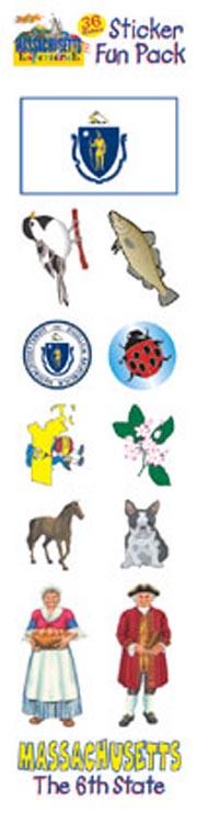 The Massachusetts Experience Sticker Pack