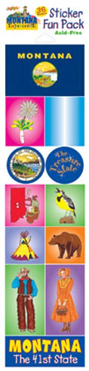 The Montana Experience Sticker Pack
