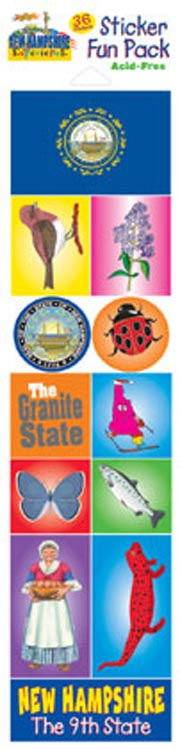 The New Hampshire Experience Sticker Pack