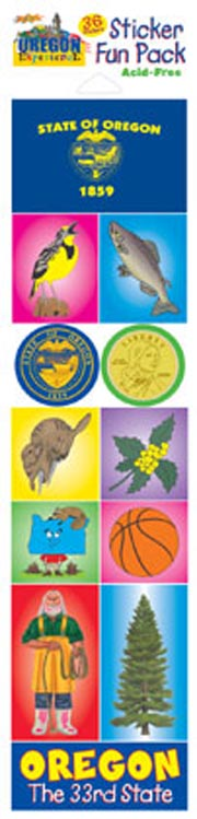 The Oregon Experience Sticker Pack