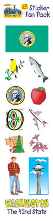 The Washington Experience Sticker Pack