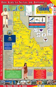 The Idaho Experience Poster/Map!