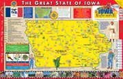 The Iowa Experience Poster/Map!