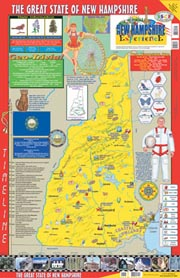 The New Hampshire Experience Poster/Map!