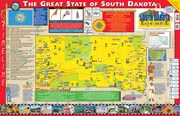 The South Dakota Experience Poster/Map!