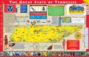The Tennessee Experience Poster/Map!