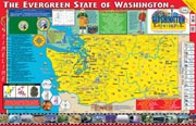 The Washington Experience Poster/Map!