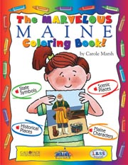The Marvelous Maine Coloring Book!