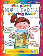 The Nifty North Dakota Coloring Book!