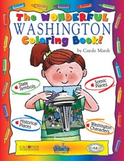 The Wonderful Washington Coloring Book!