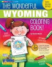 The Wonderful Wyoming Coloring Book!
