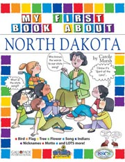 My First Book About North Dakota!
