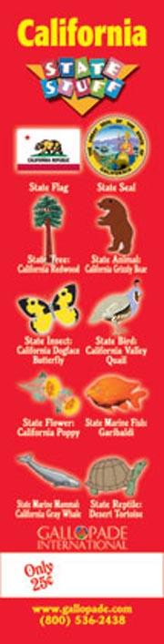 California Symbols Bookmark