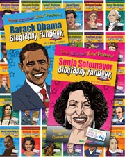 Biography Funbooks Set of 28