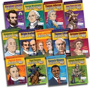 Presidents, Explorers and  Inventions Set - Set of 13