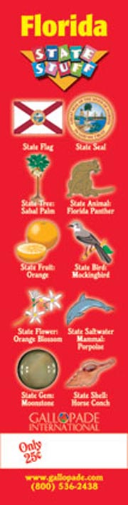 Florida Symbols Bookmark