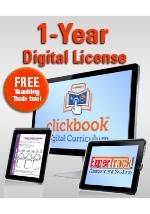 Georgia 6th Grade Clickbook Digital Curriculum Class Set of 30