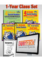 Louisiana Experience 4th Grade Class Set of 30 with ExperTrack