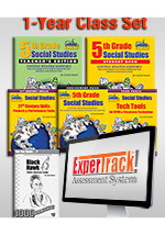 Louisiana Experience 5th Grade Class Set of 30 with ExperTrack