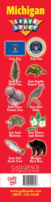 Michigan Symbols Bookmark
