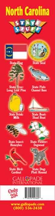 North Carolina Symbols Bookmark