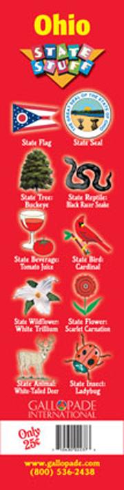 Ohio Symbols Bookmark