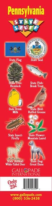 Pennsylvania Symbols Bookmark