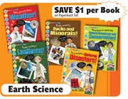 Earth Science Set - Set of 5