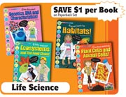Life Science Set - Set of 4