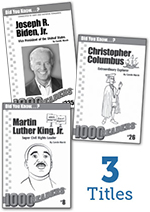 Tennessee Experience 1st Grade Biography Reader Set