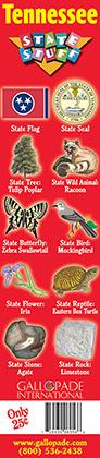 Tennessee Symbols Bookmark
