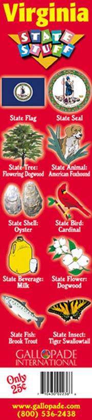 Virginia Symbols Bookmark