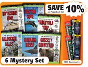 Wildlife Mystery Set of 6 Paperbacks